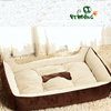 The square plush pet toys of dog toys and cat bed