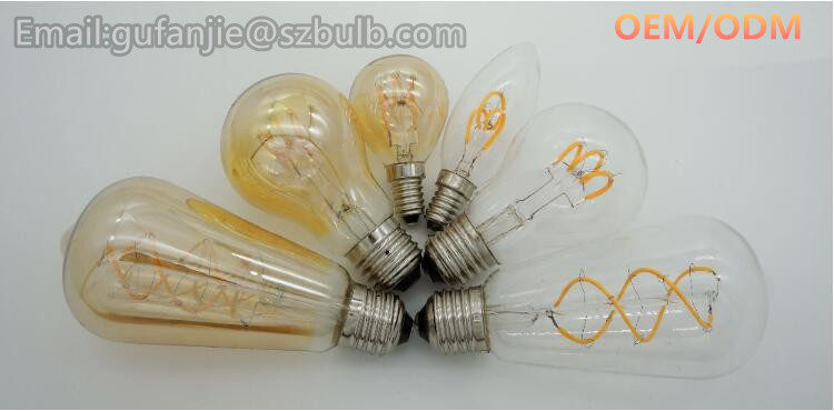 7W 15W 220-240V G40 E12 Base Vintage Globe Incandescent String Light Bulb