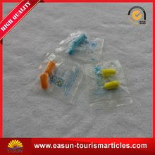Cheap price ear plugs for aviation airline travel accessories aviation earplug