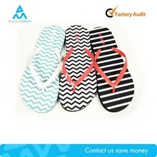 cheap wholesale latest design new model slipper , flip flop rubber indoor slipper for woman