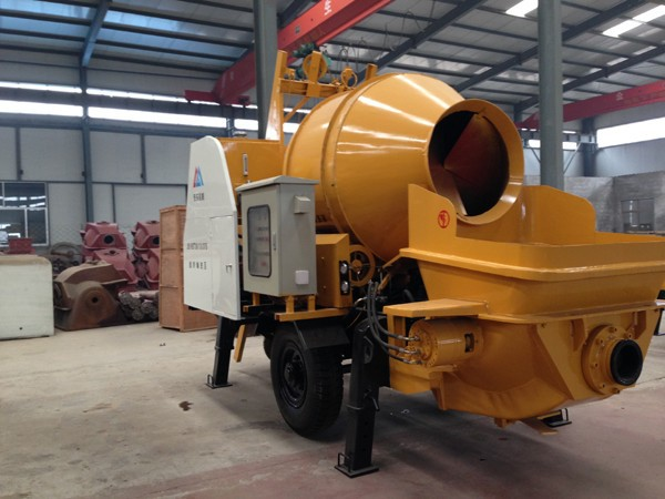 HNTM20.06.30S concrete pump mixer/portable concrete mixer and pump