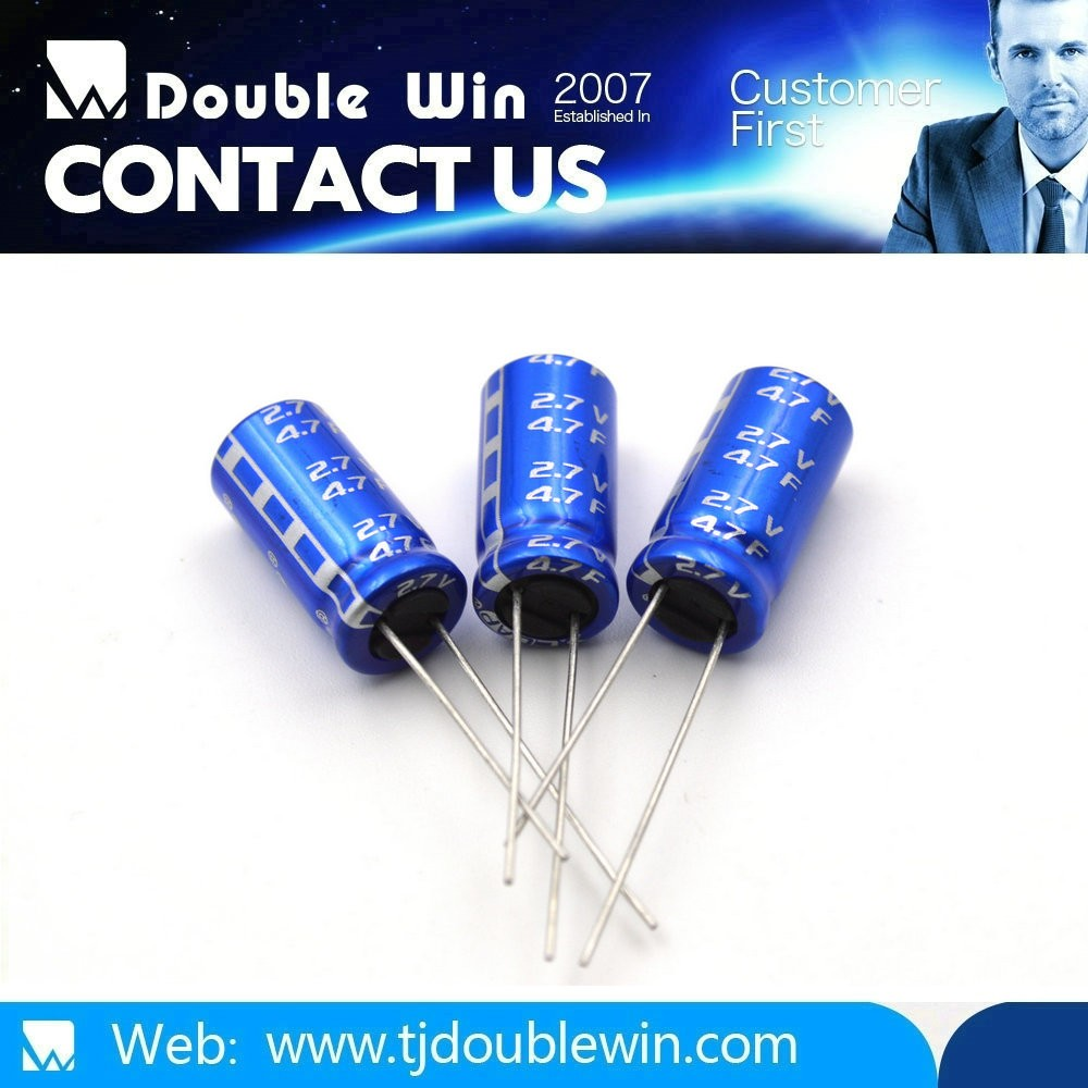 Long life grade high voltage capacitors/supercapacitor/ac fan capacitor