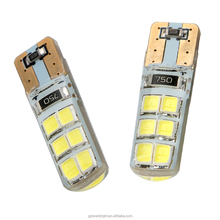 Car Auto 194 W5W Canbus t10 12smd 2835 Silica LED No error Wedge Lights Parking bulb
