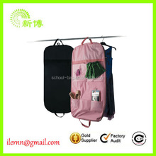 Travel foldable with ID card holder cover bag Promotional garment bag