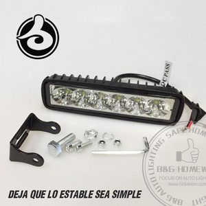 Car Accessories 4D Off road Led Bar Light Square 4x4 Led Work Lamp 18w