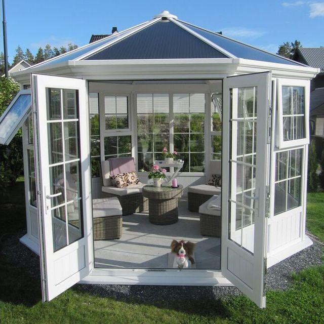aluminum sunroom glass houseYuanwenjuncom