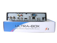 TV Decoder Ultra-box Z5 with iks and sks free for N3 Channels for South America