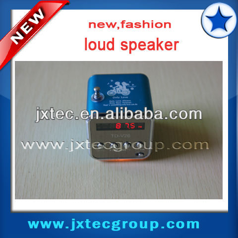 Manual portable mini altavoz td-v26 mini altavoz altavoz