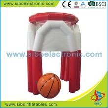 GMIF7393 customized floating inflatable basketball hoops for water park