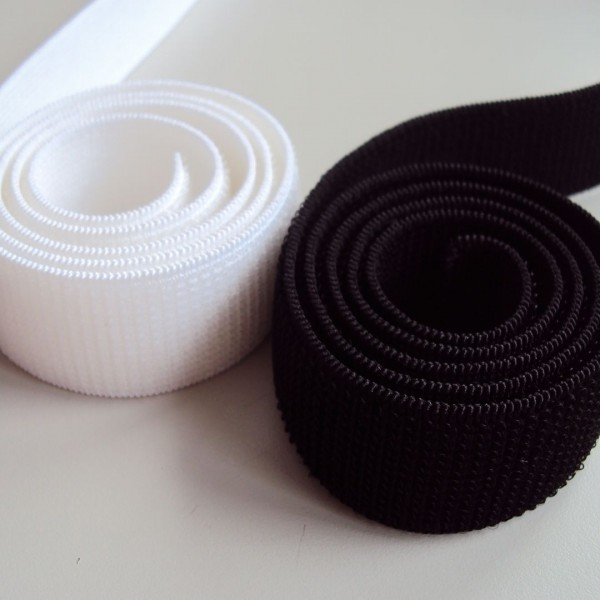 China webbing nylon elastic fabric woven hook loop fastener tape
