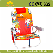 Adjustable Lightweight personalized Backpack Folding Beach Chair tommy bahama beach chair