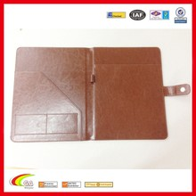 Wholesale Executive PU Leather Padfolio with Letter Size Writing Pad, PU Leather Document Holder for Business Presentation