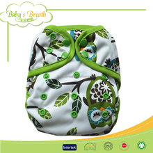 BCD083 Fashion Design Plain Children Clothes Diaper Covers Double Gussets