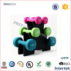 Hand Weights Neoprene/Vinyl Dumbbells Set Iron Home Gym Fitness Aerobic Exercise