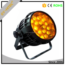 high power lumen 18 x 10w zoom stage light RGBW lighting par led 4 in 1 quad-color Waterproof ip65 led par can