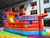 2016 Dry Commercial Inflatable Slide Giant Buccaneer Inflate Slide for kids
