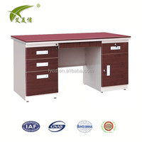 Steel office furniture executive/modern table office use/computer table size