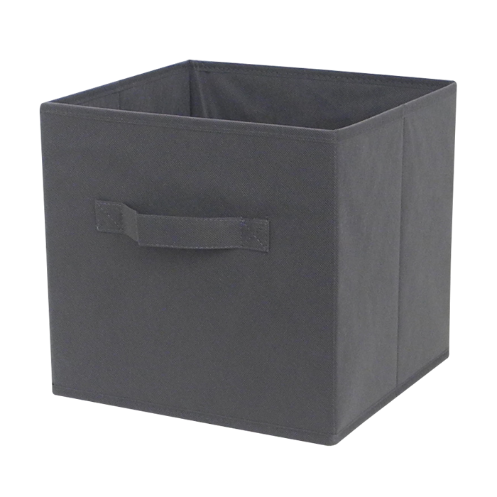 Wholesale clothes organizer foldable fabric cube toy storage box bin