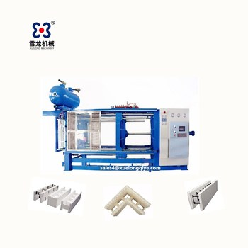 Money-saver eps icf plastic block moulding machine for wall building