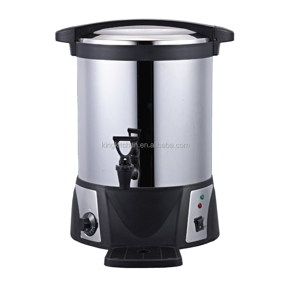 18L Commerical Stainless Steel Water Boiler For Catering / Electric Kettle For Heating Water / Adjust Temperature By Thermostat