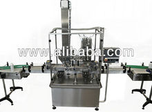 Linear capping machine for closing canisters
