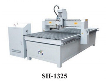 CNC Woodworking Router Machine SH-1325 with X Y working area 1300x2500mm