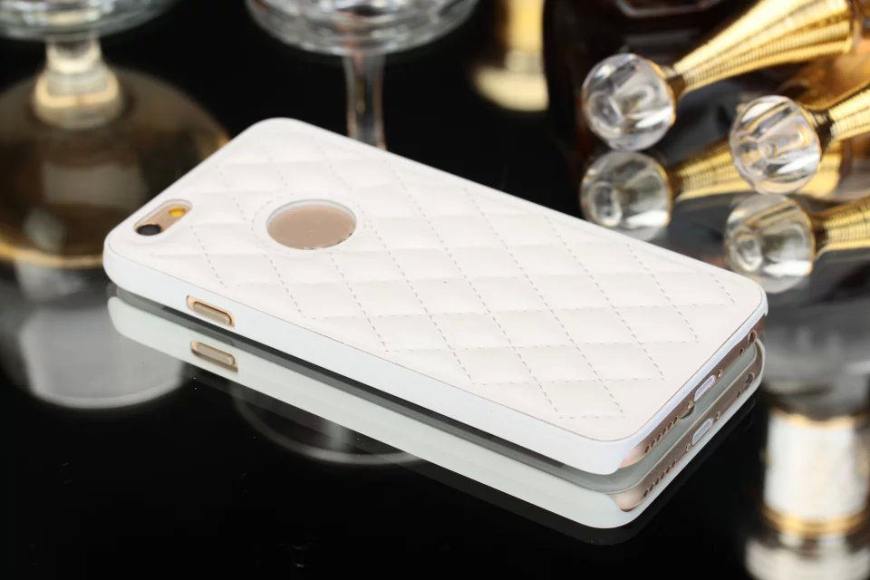 Shenzhen market mobile phone accessories genuine leather bumper case for iphone5/6/6 plus
