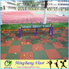 hard spray Recycled rubber flooring for gym