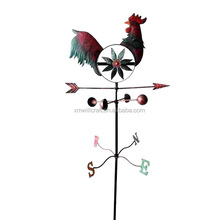 garden decorative rooster Metal Windmill
