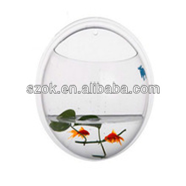acrylic clear wall hanging wholesale fish tank