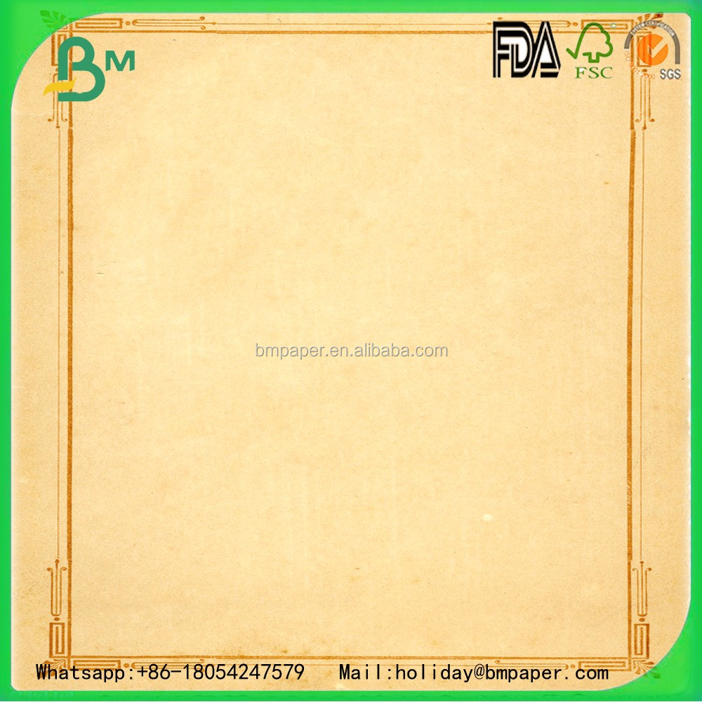2017 Wholesale gift wrapping craft paper or kraft paper 70 to 80 gsm