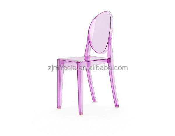 Contemporary antique plastic folding modern dining chairs