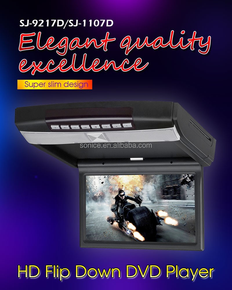 10.1 inch Slot-in flipdown DVD Player