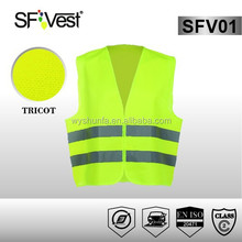 hi vis clothing motorcycle protective clothing workwear safety vest 3m high visibility tape Reflective Vests
