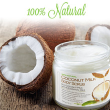 100% Natural Dead Sea Salt Coconut Milk Body Scrub