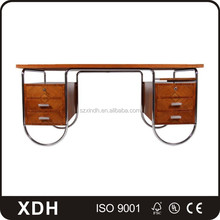 2017 Unique Design Wooden Computer Table Luxury Rectangular Office Desk