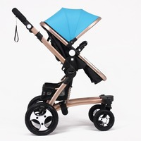 Belecoo stroller manufacture baby products with EN1888 X6 blue