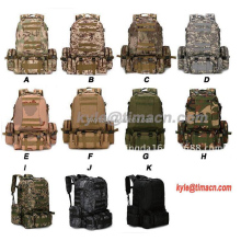 Waterproof Hiking Trekking Survival Molle Camo Army Military Backpack