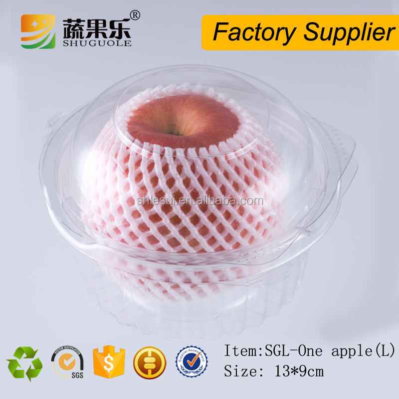 High quality plastic box for Christmas apple punnet