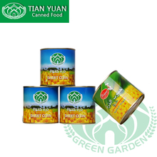 Canned food Organic 340g 24tins canned sweet corn kernel