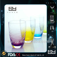 Unleaded Engraved Water Tumbler/Drinking Glass Cup/Glassware