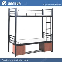High Loading Capacity Metal Frame Cheap Queen Size Bunk Bed School Dormitory Iron Double Decker Bed