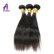 Cuticle Aligned Straight Grade 10A 100 Human Unprocessed Virgin Peruvian Hair In China
