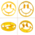 HOT! Breakfast Silicone Smile Face Fried Egg Mold Pancake Mould Egg Ring Shaper Funny DIY Kitchen Tool