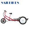 No-electric flatbed 3 wheel tricycle for cargo