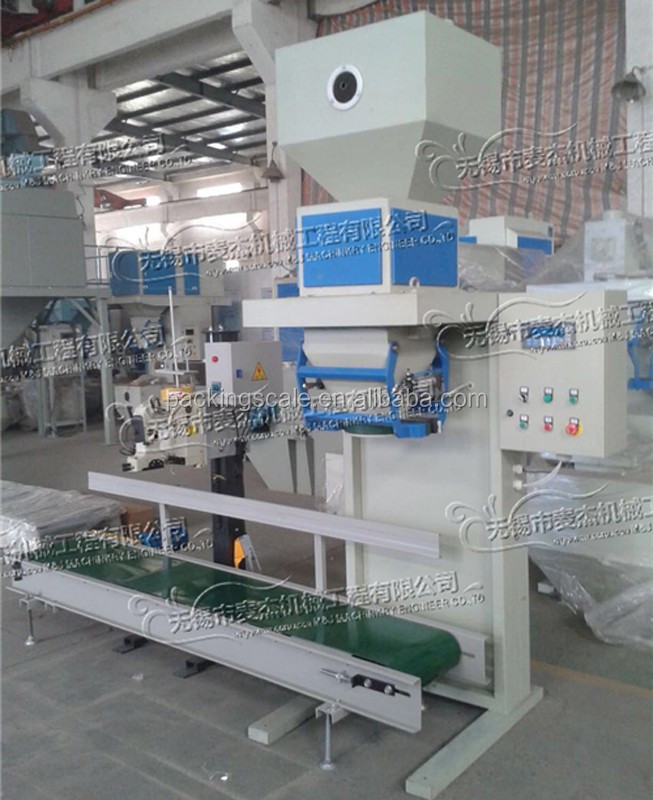 """TOP CHOICE"" semiautomatic PP woven bag filling and sewing machine for flour, soya bean powder, wheat flour"
