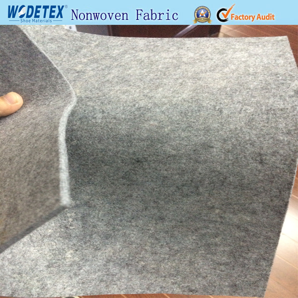 Manufacturer Black Nonwoven Fabric insole with strengthening