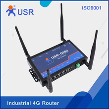 Industrial 4G Wireless WIFI LTE Router with Sim card slot and external antenna