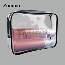 christmas eco friendly customized pvc skincare packaging pouch