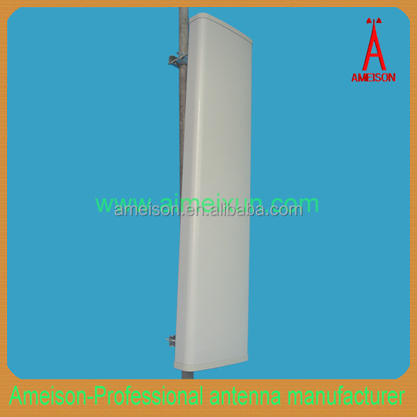 Antenna Manufacturer high gain Vertical Polarized Base Station Sector Panel antenna for UHF rfid repeater